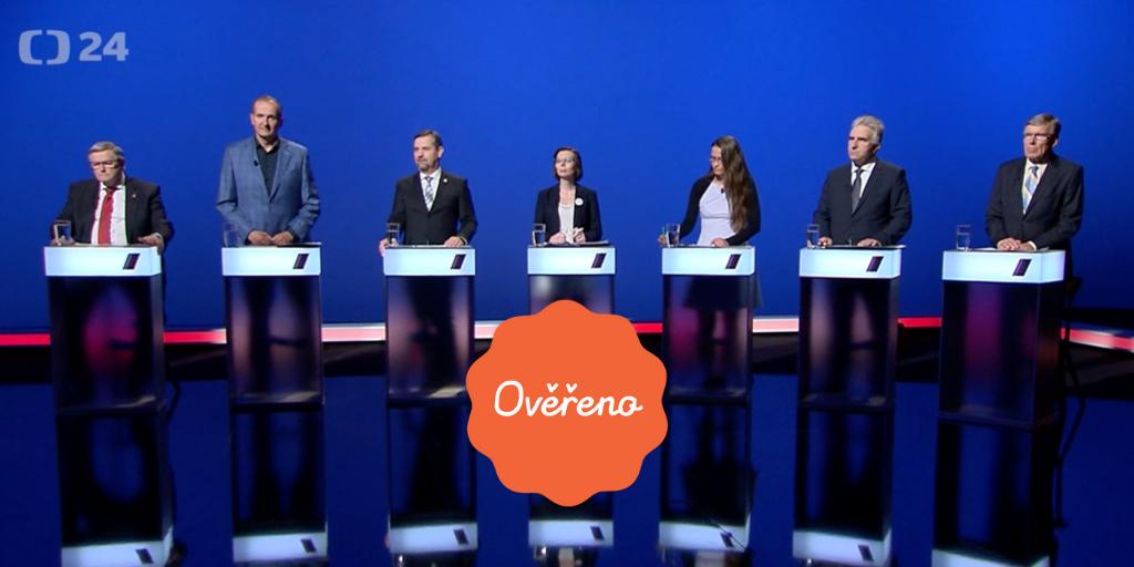 Předvolební debata z Vysočiny